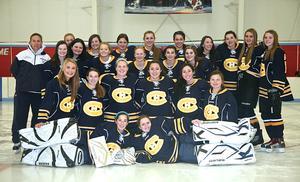 Hanover-Cohasset Girls Hockey Team